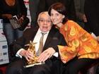 Malga Di Paula faz homenagem para Chico Anysio em aniversário de morte