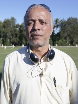Gilberto Santos, diretor de futebol do Rio Branco-ES (Foto: Richard Pinheiro/GloboEsporte.com)