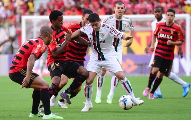 Conca Fluminense x Sport (Foto: Anderson Stevens / Photocamera)
