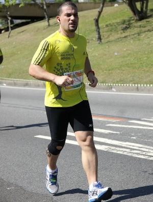Marcelo Veloso euatleta sincronizado (Foto: Arquivo Pessoal)
