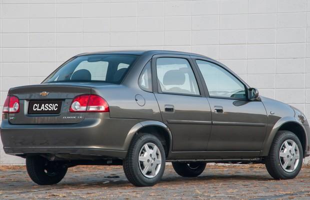 Chevrolet Classic 2014 (Foto: Divulgação)