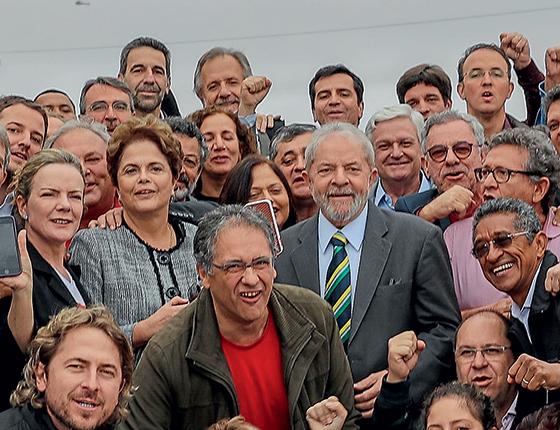 O Ministério Público Federal abriu investigação para apurar se deputados e senadores petistas usaram recursos da cota parlamentar para viajar em maio em apoio a Lula, que participara de uma audiência com o juiz Sergio Moro em Curitiba. (Foto: Ricardo Stuckert)