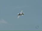 Passeio coletivo de aeronaves cruza o céu do sudoeste do Paraná