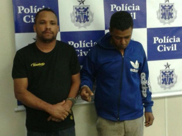 Suspeitos presos alegaram que crime foi encomendado por pastor (Foto: Michele Damasceno/TV Sudoeste)