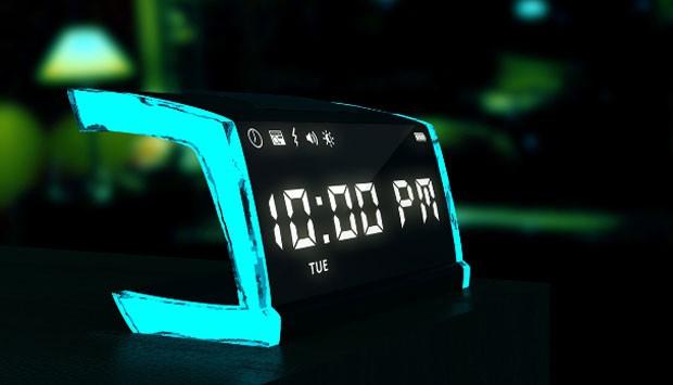 Relógio despertador dá choque para o usuário despertar (Foto: Divulgação)