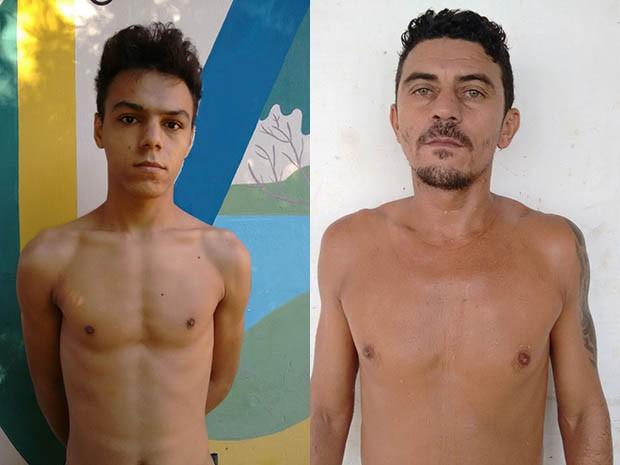 Alex Michel da Silva e José Marcos de LIma fugiram (Foto: Divulgação/Direção da PAMN)