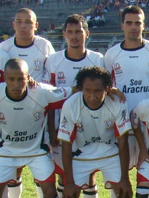 Aracruz campeão capixaba da Série B 2010 (Foto: Murilo Cuzzuol/A Gazeta)
