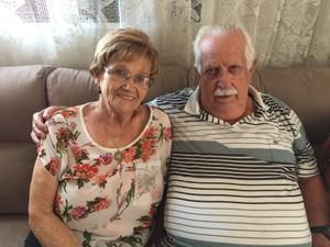 Raissa e Maximiano Bonassa são casados há 23 anos (Foto: Mayara Corrêa/G1)