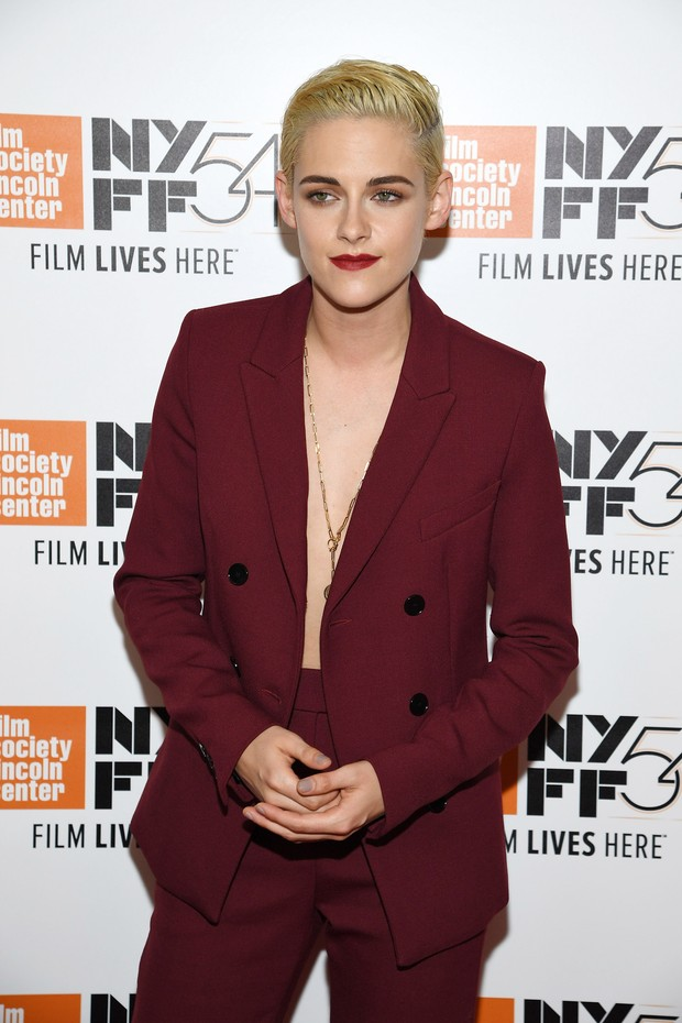 Kristen Stewart em première de filme em Nova York, nos Estados Unidos (Foto: Dimitrios Kambouris/ Getty Images/ AFP)