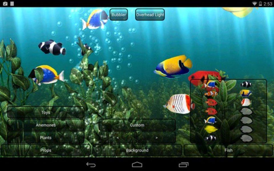 Aquarium live wallpaper download techtudo for Wallpaper interactivo