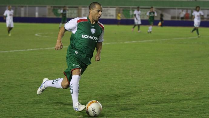 Gilberto Matuto, lateral-direito do Alecrim (Foto: Gabriel Peres/Divulgação)