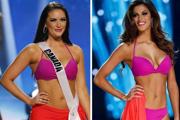 Miss Canadá e Miss França (Foto: Reprodução / Instagram)