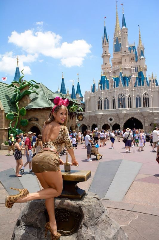 Gil Jung na Disney (Foto: divulgação)