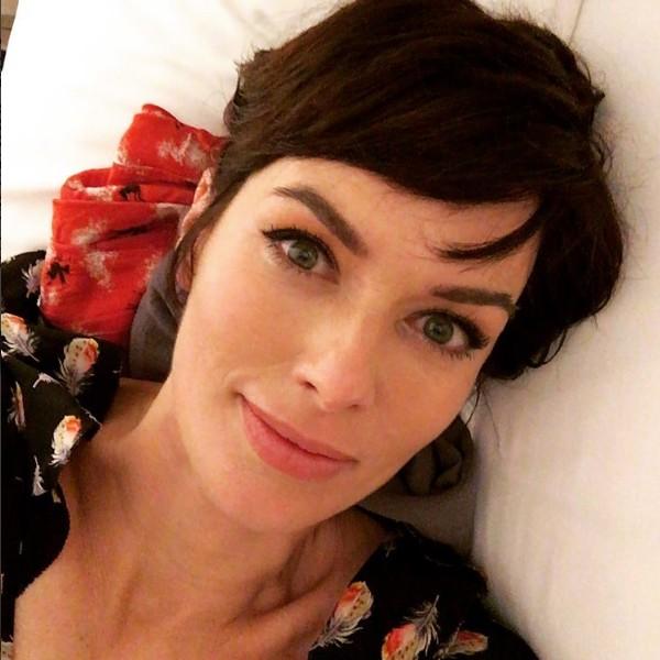 A atriz Lena Headey (Foto: Instagram)