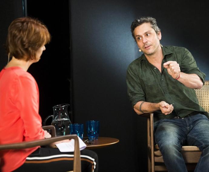 Alexandre Nero participa da estreia da segunda temporada do Ofício em Cena (Foto: Globo/João Miguel Júnior)