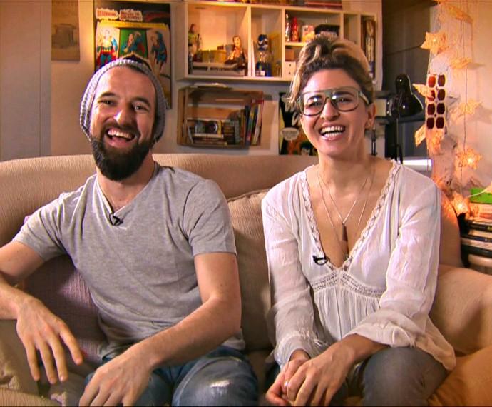 15 segundos coisa boa Mistura com Rodaika Bárbara e Rafael (Foto: Reprodução/RBS TV)