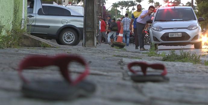 Assassinato torcedor Treze (Foto: Reprodução / TV Paraíba)