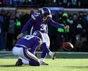 Com temperaturas negativas, Vikings erram no fim, e Seattle avança na NFL