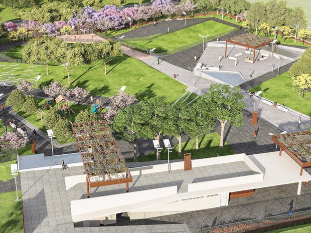 Projeto de moradia da Bild prioriza o verde e a convivência em um parque linear único na cidade, na região nobre da Fiúsa (Foto: Divulgação/Bild Desenvolvimento Imobiliário)