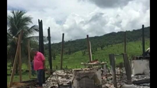 Fazenda Santa Maria, em Anapu, é incendiada em ataque