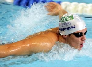 O atleta Luiz Pedro (Pepeu) compete nesta terça. (Foto: Divulgação / Assessoria )