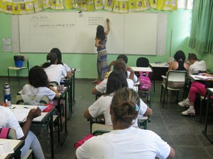 Hércules Ribeiro Antunes foi diagnosticado com autismo aos quatro anos. Hoje, tem 12 anos e estuda na Escola Municipal Pedro Navas (Foto: Ana Carolina Moreno/G1)