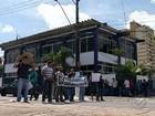 Em Belém, guardas municipais interditam avenida em protesto