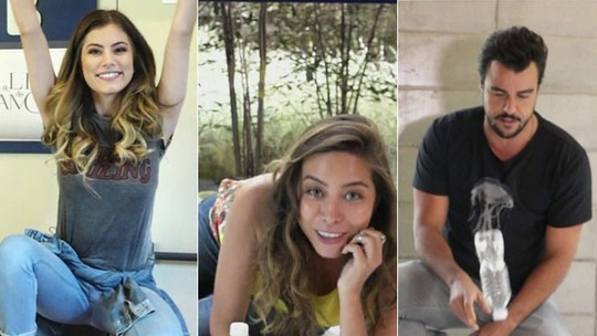 Ana Maria e artistas entram no clima do 'desafio da garrafa' e brincam no 'Mais Você'