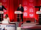 Trump e Bush entram em confronto durante debate Republicano