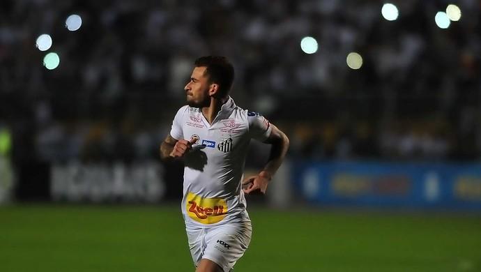 Lucas Lima Santos x São Paulo (Foto: Ivan Storti/ Santos FC)