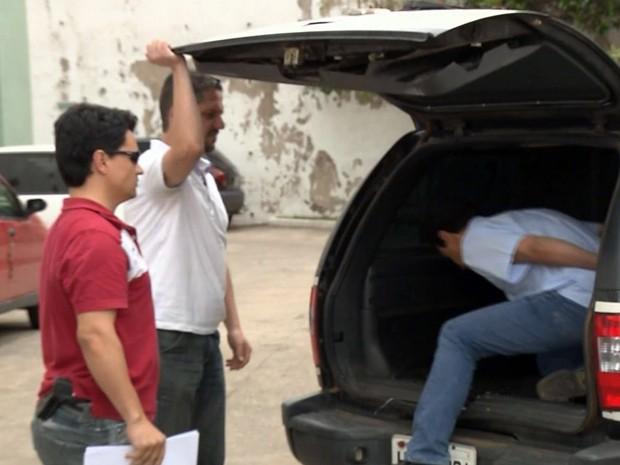 Empresário é preso suspeito de aplicar golpes em Pouso Alegre (Foto: Reprodução EPTV)