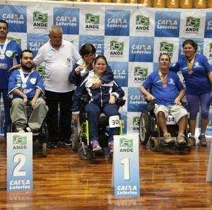 Equipe de bocha de Uberlândia (Foto: Divulgação/CDDU)