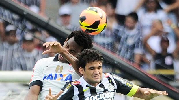 Corinthians x Santos Brasileirão (Foto: Marcos Ribolli)