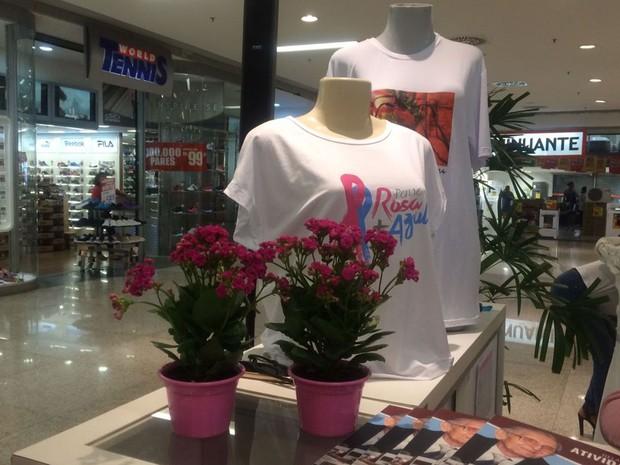 Produtos são comercializados em prol da campanha (Foto: Natally Acioli/G1)