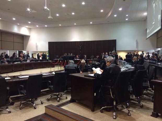 Eleição ocorreu nesta quarta-feira (16) (Foto: João Salgado / RPC)