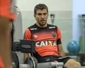 Poupado nos últimos treinos, Donizete espera enfrentar o Vitória, na quarta