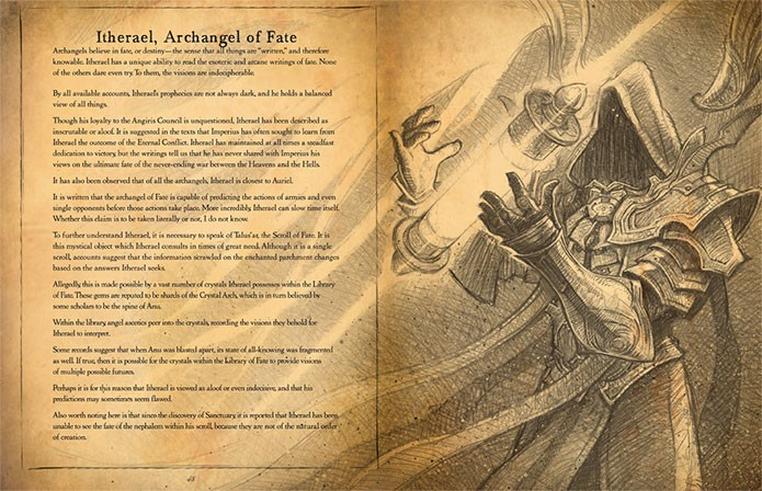 O Livro de Cain tem arte característica (Foto: Divulgação)