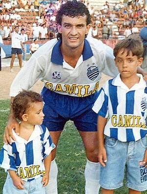Otávio Quadros, ex-jogador do CSA (Foto: Museu dos Esportes)