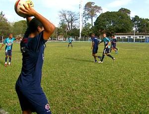 Jogo-treino: Ferroviária e São Carlos (Foto: Reprodução / EPTV)