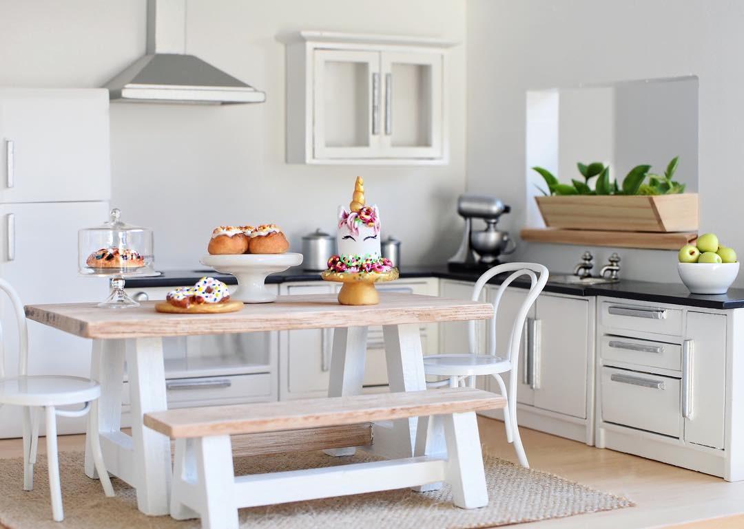 Sonho de consumo: esta cozinha!  (Foto: Reprodução Instagram @whimsy_woods)