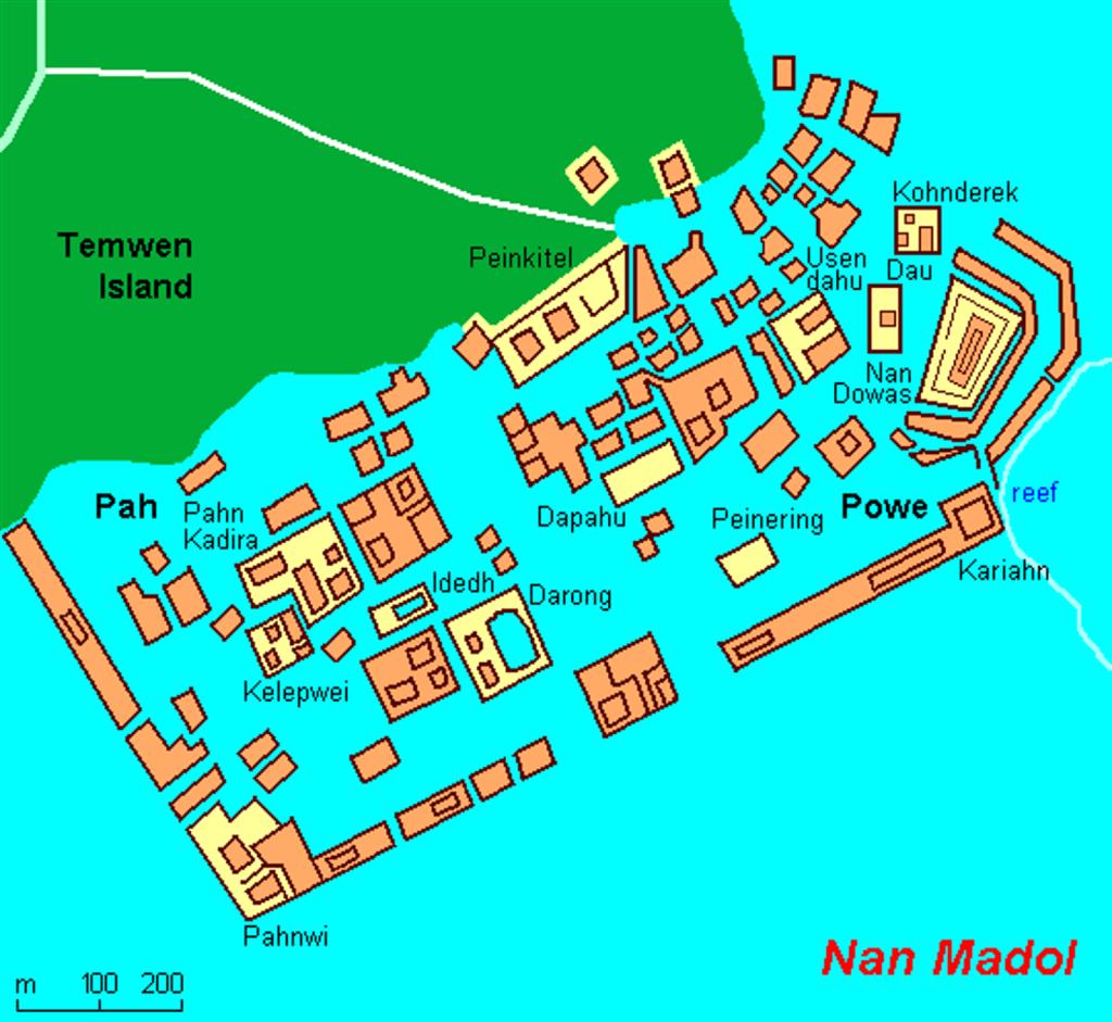 Nan Madol: conheça a cidade perdida no meio do Pacífico
