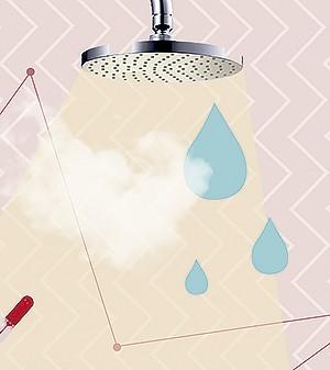 No banheiro (Foto: Ilustração Yumi Shimada/Editora Globo)
