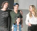 Vladimir Brichta, Alinne Moraes, Nicolas Prattes e Lara Cariello | César Alves/TV Globo