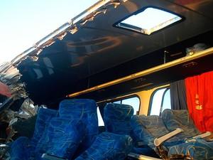 Acidente com dois ônibus mata sete pessoas na BR-020 (Foto: Blog Sigi Vilares)