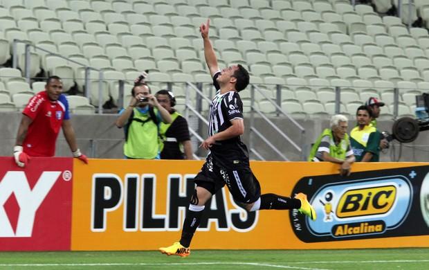 Lulinha gol Ceará x Guaratinguetá (Foto: LC Moreira / Divulgação)