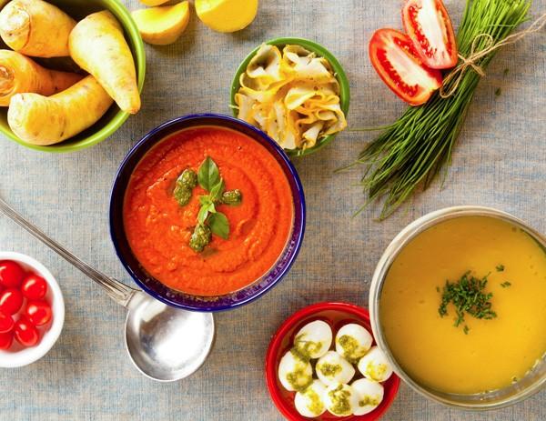 Sopas são ótimas opções para dias frios. Aqui, a sopa caprese do Gula Gula (Foto: Divulgação)
