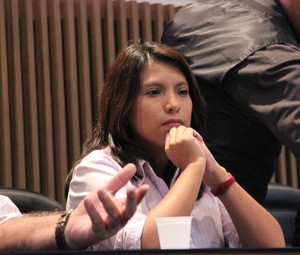 Patrícia Serudo, presidente do Manaus FC (Foto: Marcos Dantas)