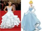 Blake Lively vai ao Festival de Cannes com vestido à la Cinderela