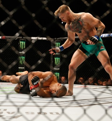 José Aldo, Connor Mcgregor  UFC 194 (Foto: Getty Images)
