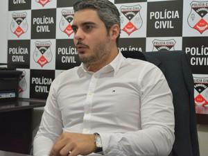 Thiago se tornou delegado há 10 anos, em Ariquemes (Foto: Jonatas Boni/ G1)